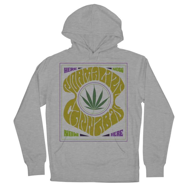 Normalize Cannabis Men's French Terry Pullover Hoody by Dustin Klein's Artist Shop