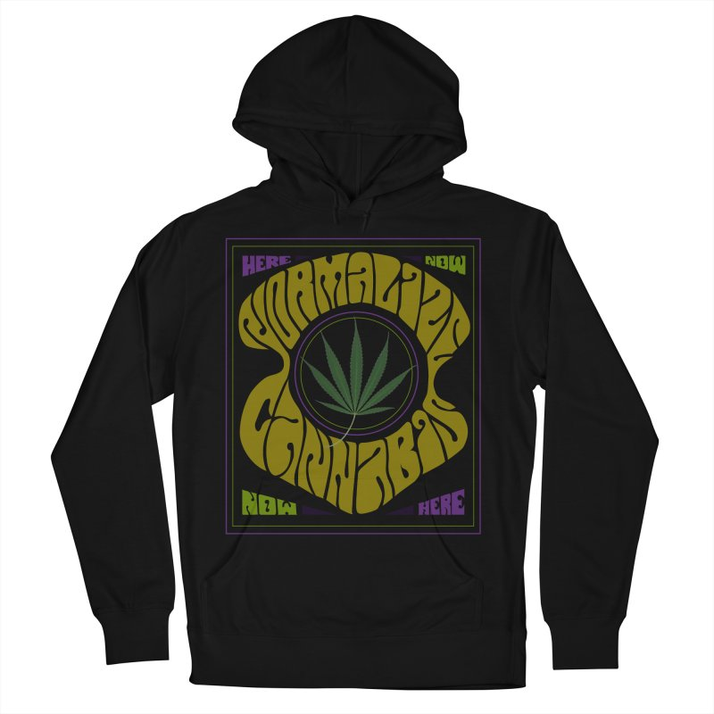 Normalize Cannabis Men's Pullover Hoody by DustinKlein's Artist Shop