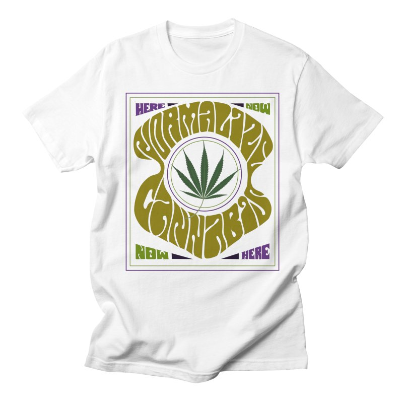 Normalize Cannabis Men's Regular T-Shirt by DustinKlein's Artist Shop