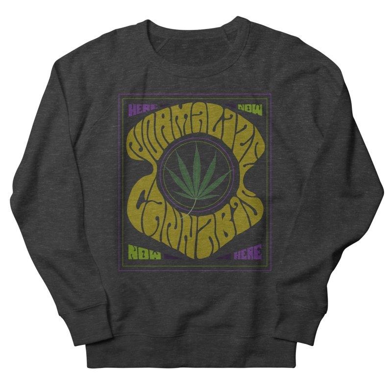 Normalize Cannabis Men's Sweatshirt by DustinKlein's Artist Shop