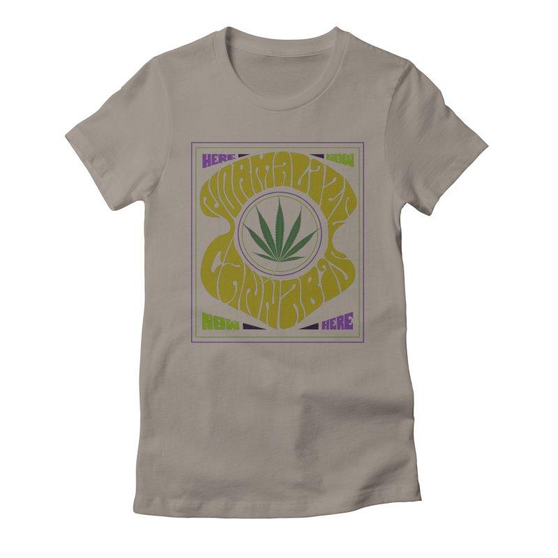 Normalize Cannabis Women's T-Shirt by Dustin Klein's Artist Shop