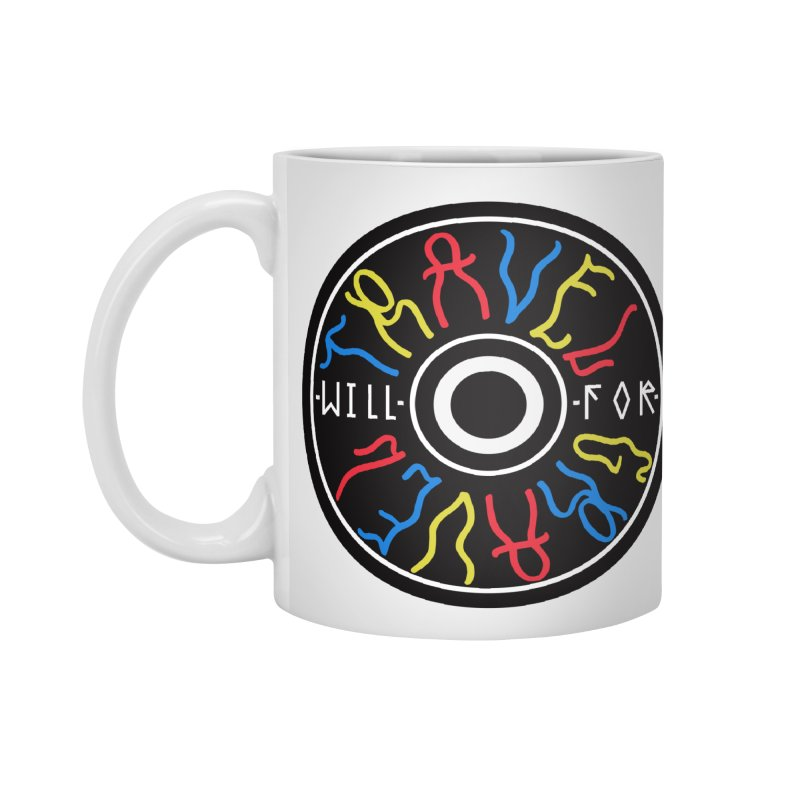 Will Travel For Gravel Accessories Standard Mug by Dustin Klein's Artist Shop