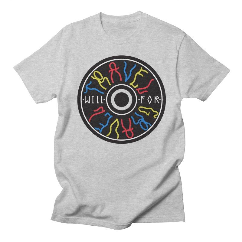 Will Travel For Gravel Men's T-Shirt by DustinKlein's Artist Shop