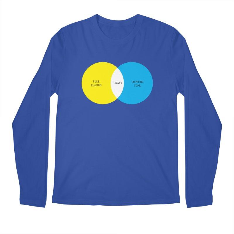 Pure Elation Men's Longsleeve T-Shirt by Dustin Klein's Artist Shop