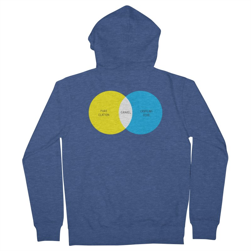 Pure Elation Men's French Terry Zip-Up Hoody by DustinKlein's Artist Shop