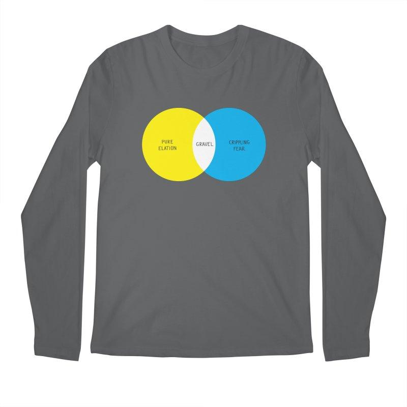 Pure Elation Men's Regular Longsleeve T-Shirt by Dustin Klein's Artist Shop