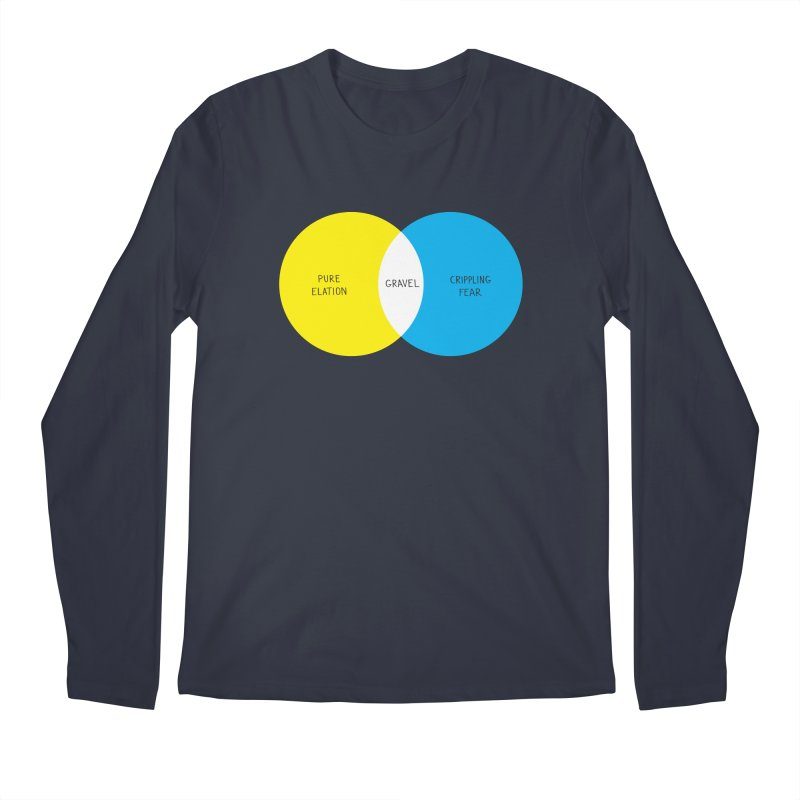 Pure Elation Men's Regular Longsleeve T-Shirt by Dustin Klein's Artist Shop