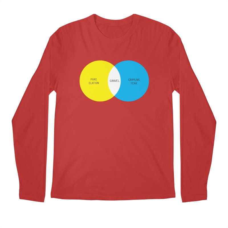 Pure Elation Men's Regular Longsleeve T-Shirt by DustinKlein's Artist Shop