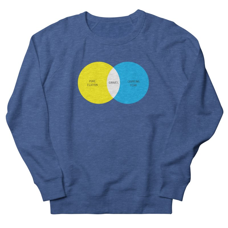 Pure Elation Men's French Terry Sweatshirt by Dustin Klein's Artist Shop