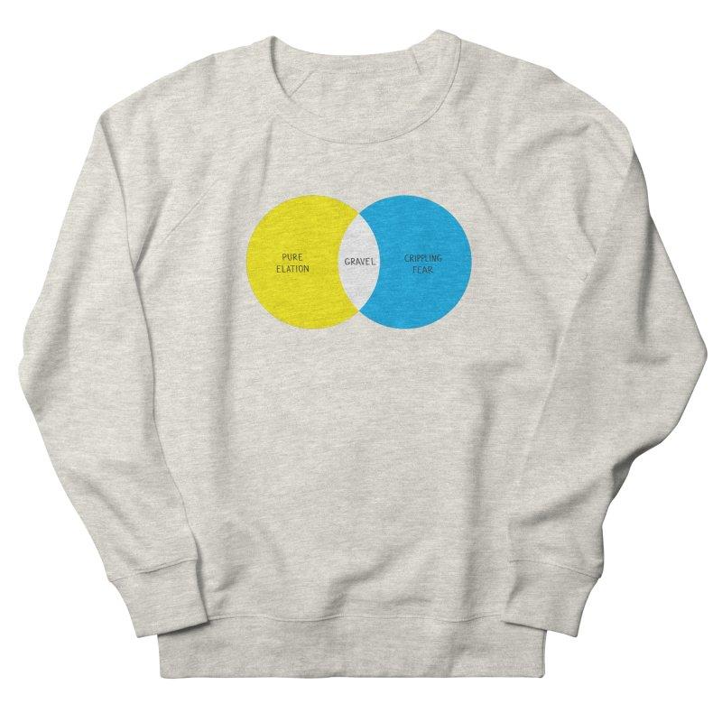 Pure Elation Men's French Terry Sweatshirt by Dustin Klein's Artist Shop