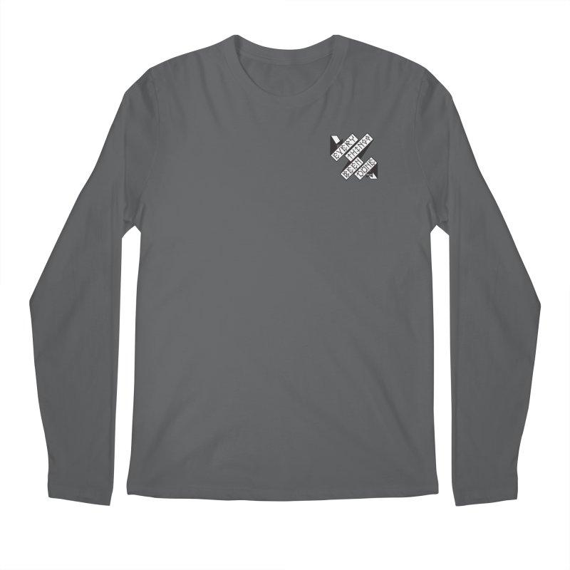 EBD Small chest hit Men's Longsleeve T-Shirt by DustinKlein's Artist Shop
