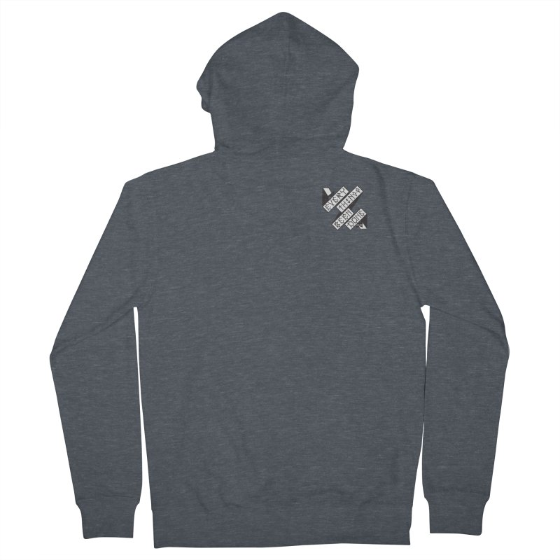 EBD Small chest hit Men's Zip-Up Hoody by DustinKlein's Artist Shop