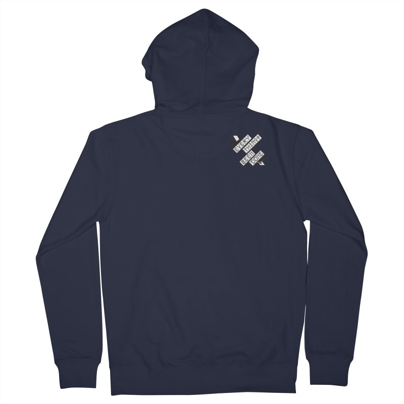 EBD Small chest hit Men's French Terry Zip-Up Hoody by DustinKlein's Artist Shop