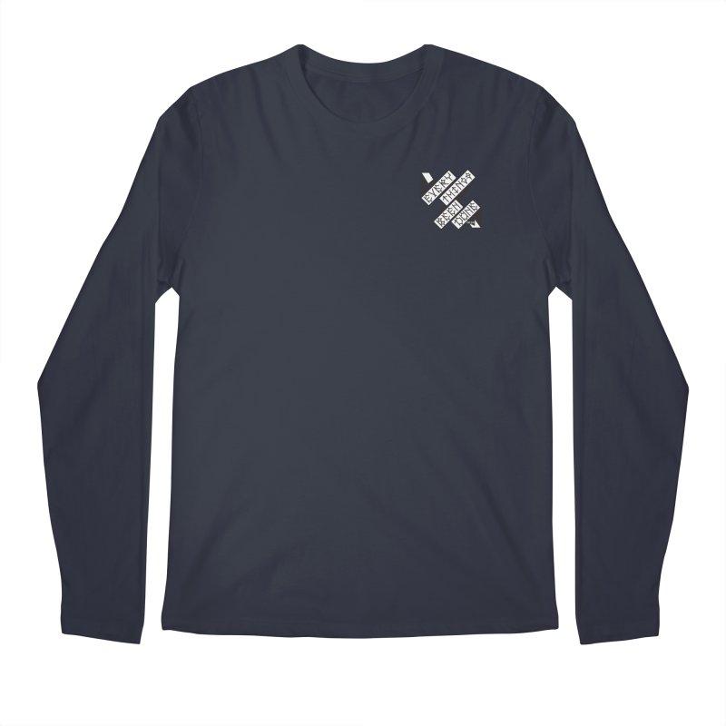 EBD Small chest hit Men's Regular Longsleeve T-Shirt by Dustin Klein's Artist Shop