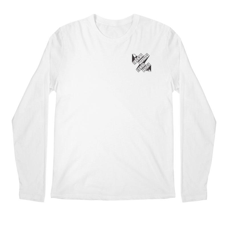 EBD Small chest hit Men's Regular Longsleeve T-Shirt by DustinKlein's Artist Shop