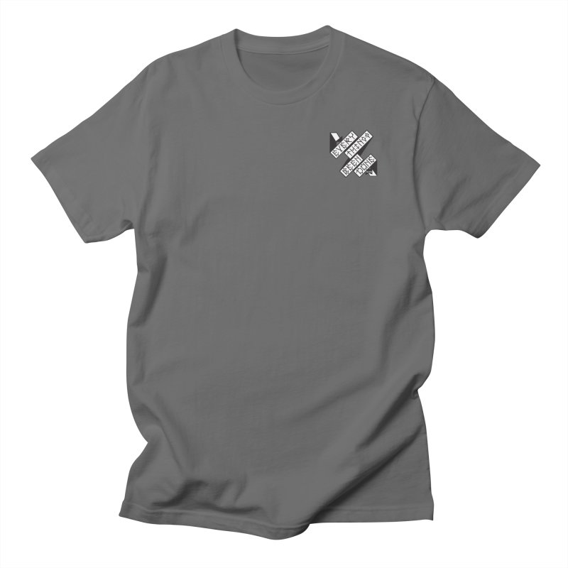 EBD Small chest hit Men's Regular T-Shirt by Dustin Klein's Artist Shop
