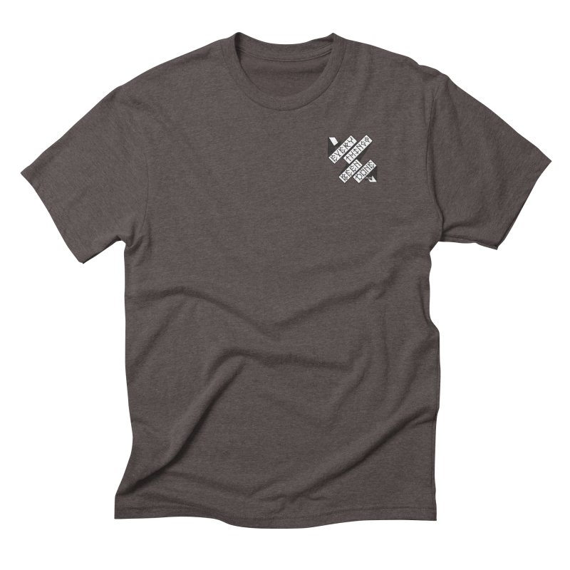 EBD Small chest hit Men's Triblend T-Shirt by Dustin Klein's Artist Shop