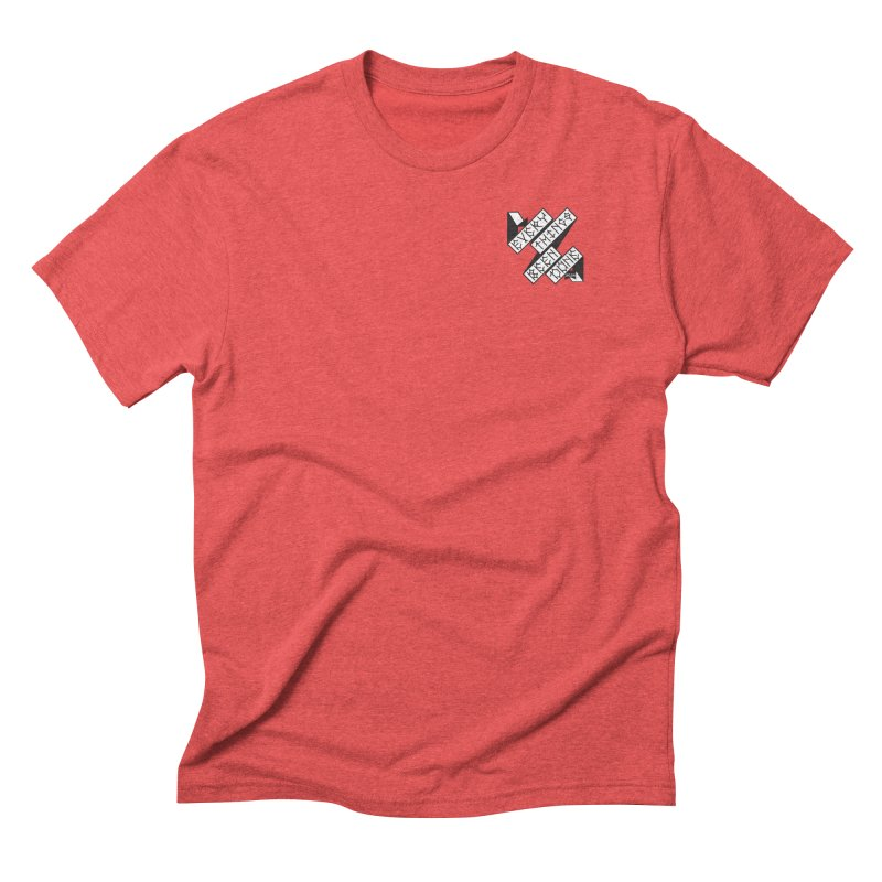 EBD Small chest hit Men's Triblend T-Shirt by Dustin Klein's Artist Shop