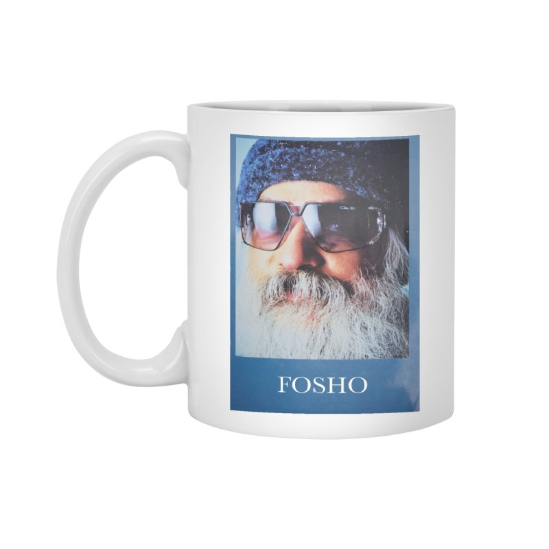 Fosho Accessories Standard Mug by Dustin Klein's Artist Shop