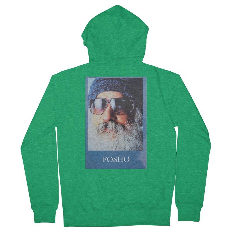 Fosho Men's Zip-Up Hoody by DustinKlein's Artist Shop