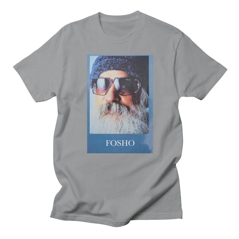 Fosho Men's Regular T-Shirt by Dustin Klein's Artist Shop