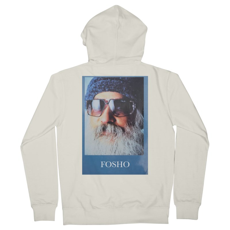 Fosho Men's French Terry Zip-Up Hoody by Dustin Klein's Artist Shop