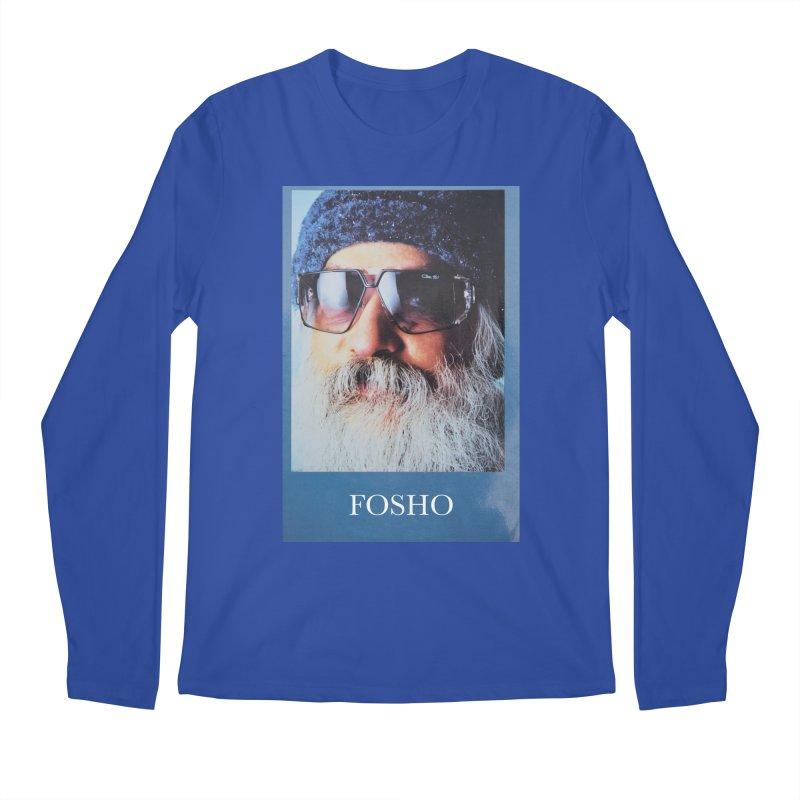 Fosho Men's Longsleeve T-Shirt by DustinKlein's Artist Shop