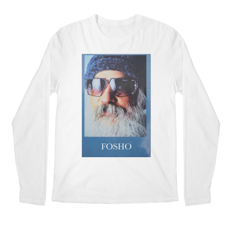 Fosho Men's Regular Longsleeve T-Shirt by DustinKlein's Artist Shop