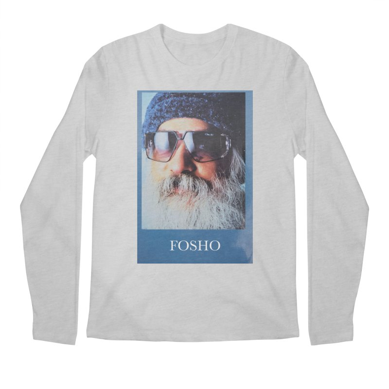 Fosho Men's Regular Longsleeve T-Shirt by Dustin Klein's Artist Shop