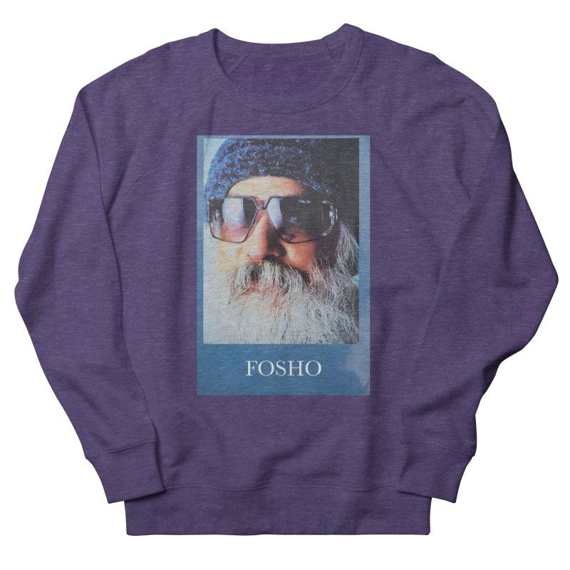 Fosho Men's French Terry Sweatshirt by Dustin Klein's Artist Shop