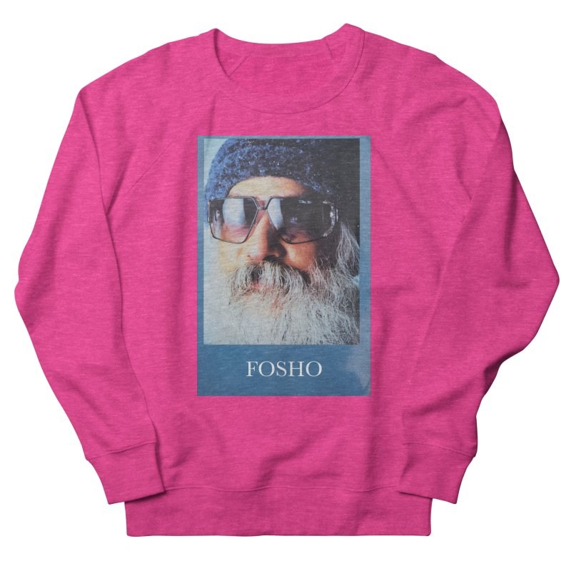 Fosho Men's French Terry Sweatshirt by Dustin Klein's Artist Shop
