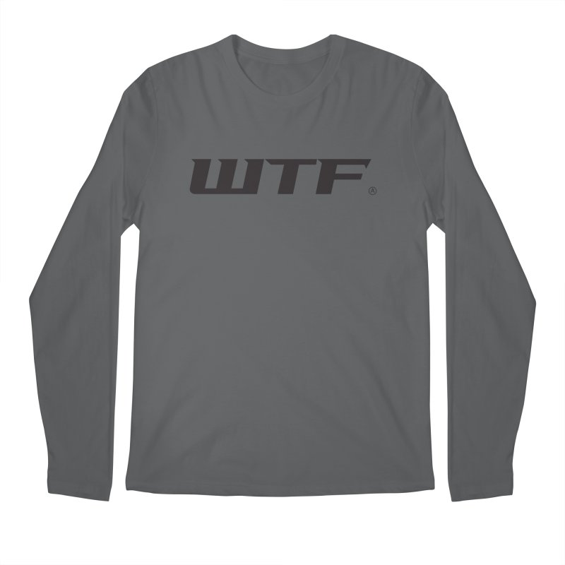 WTF Men's Longsleeve T-Shirt by Dustin Klein's Artist Shop