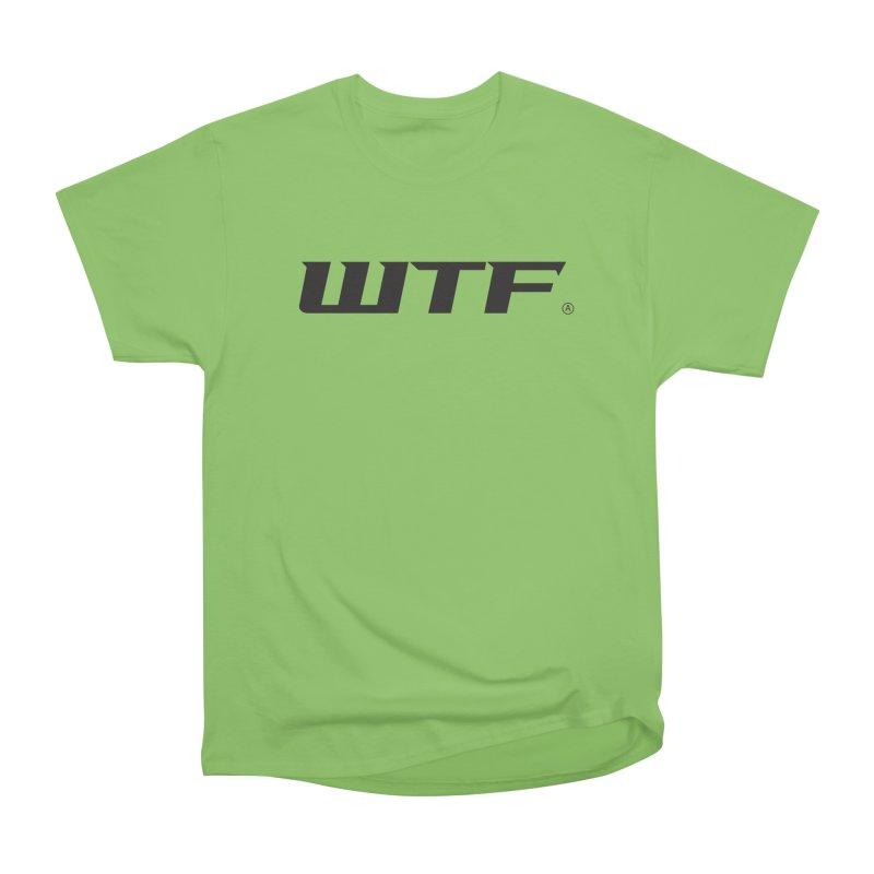WTF Men's Heavyweight T-Shirt by Dustin Klein's Artist Shop