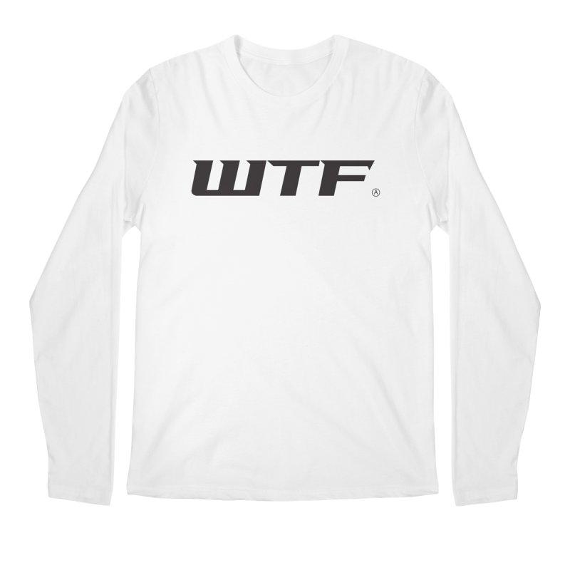 WTF Men's Regular Longsleeve T-Shirt by DustinKlein's Artist Shop