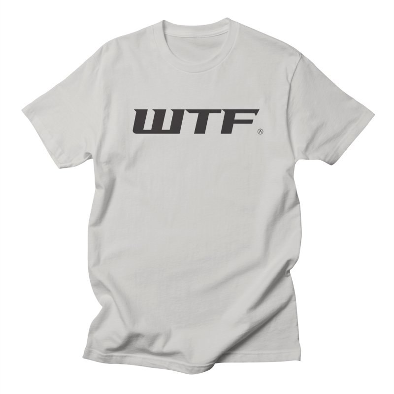 WTF Men's Regular T-Shirt by DustinKlein's Artist Shop