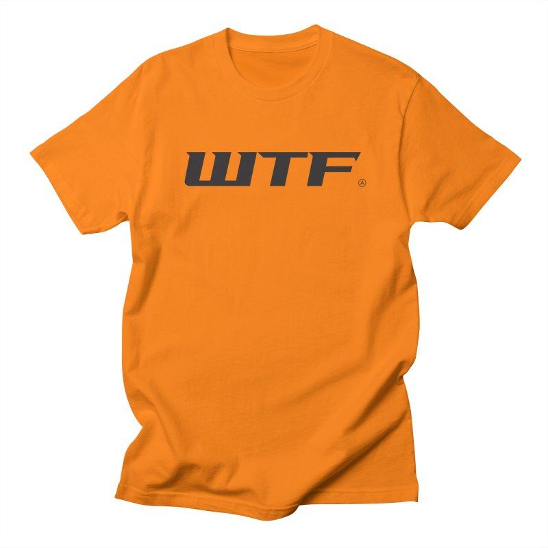 WTF Men's Regular T-Shirt by Dustin Klein's Artist Shop