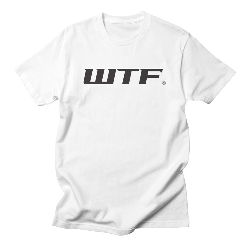 WTF Men's Regular T-Shirt by Dustin Klein's Artist Shop