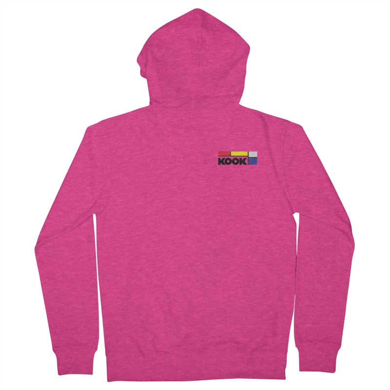 Kook Women's French Terry Zip-Up Hoody by Dustin Klein's Artist Shop