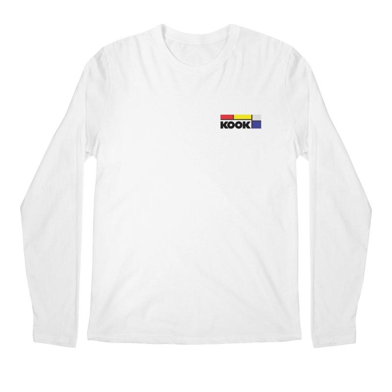 Kook Men's Regular Longsleeve T-Shirt by Dustin Klein's Artist Shop