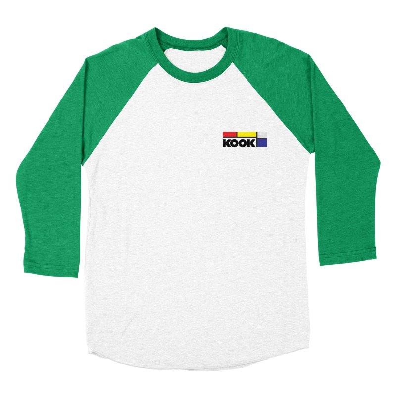 Kook Women's Baseball Triblend Longsleeve T-Shirt by DustinKlein's Artist Shop