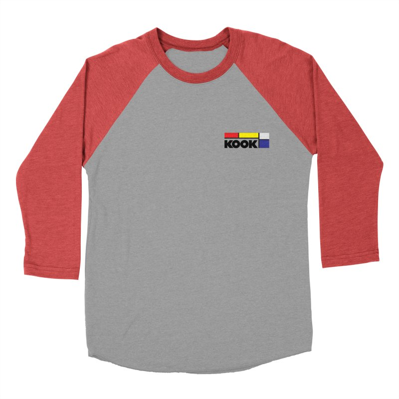 Kook Women's Baseball Triblend Longsleeve T-Shirt by Dustin Klein's Artist Shop
