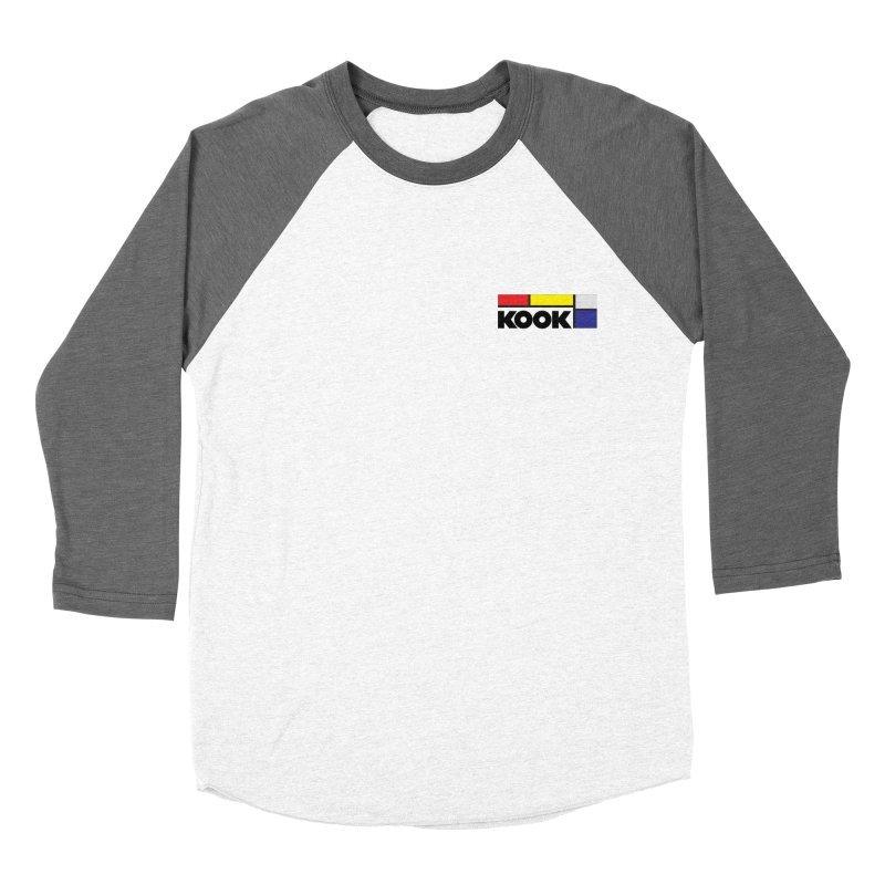 Kook Men's Baseball Triblend Longsleeve T-Shirt by Dustin Klein's Artist Shop
