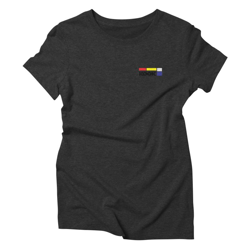 Kook Women's Triblend T-Shirt by DustinKlein's Artist Shop