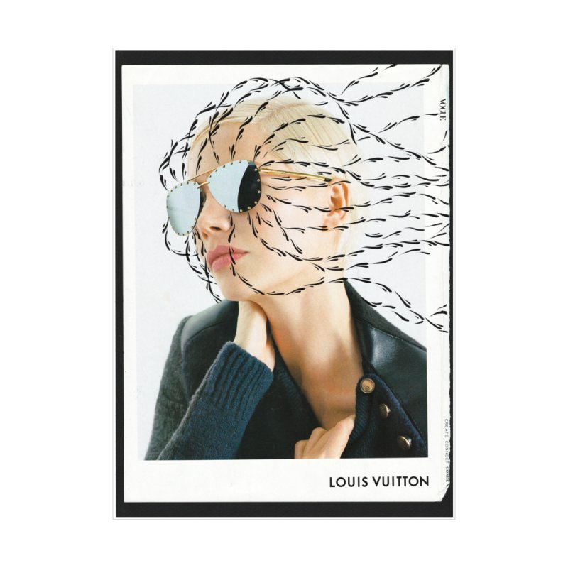 Commotion Vouge LV Home Stretched Canvas by Dustin Klein's Artist Shop