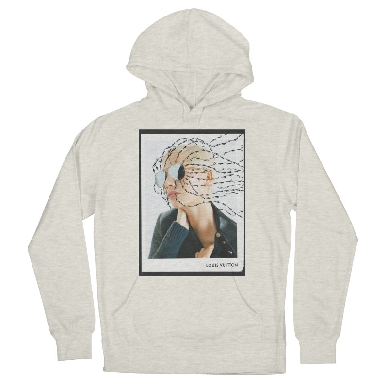 Commotion Vouge LV Women's French Terry Pullover Hoody by Dustin Klein's Artist Shop