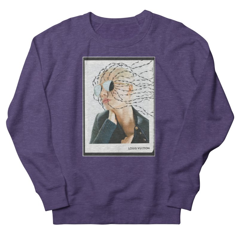 Commotion Vouge LV Women's French Terry Sweatshirt by DustinKlein's Artist Shop