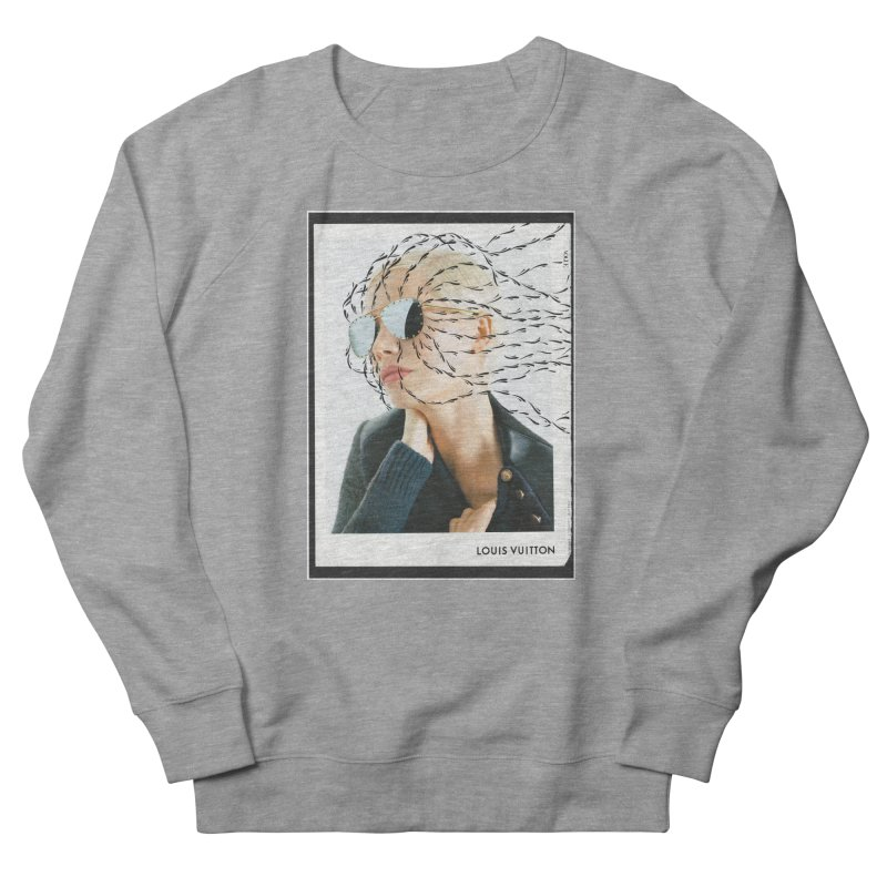 Commotion Vouge LV Men's French Terry Sweatshirt by Dustin Klein's Artist Shop