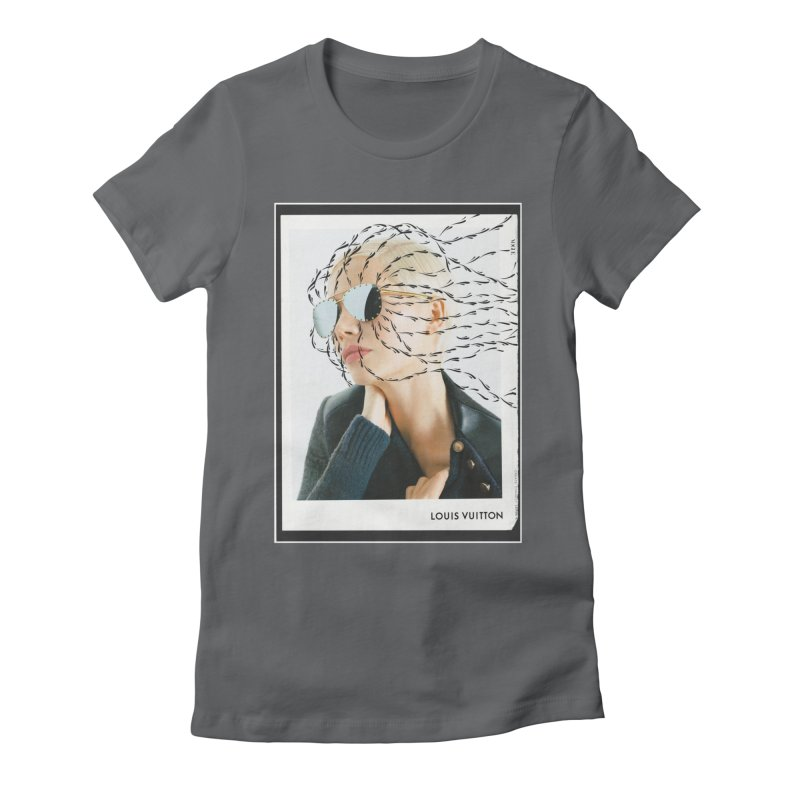Commotion Vouge LV Women's Fitted T-Shirt by Dustin Klein's Artist Shop