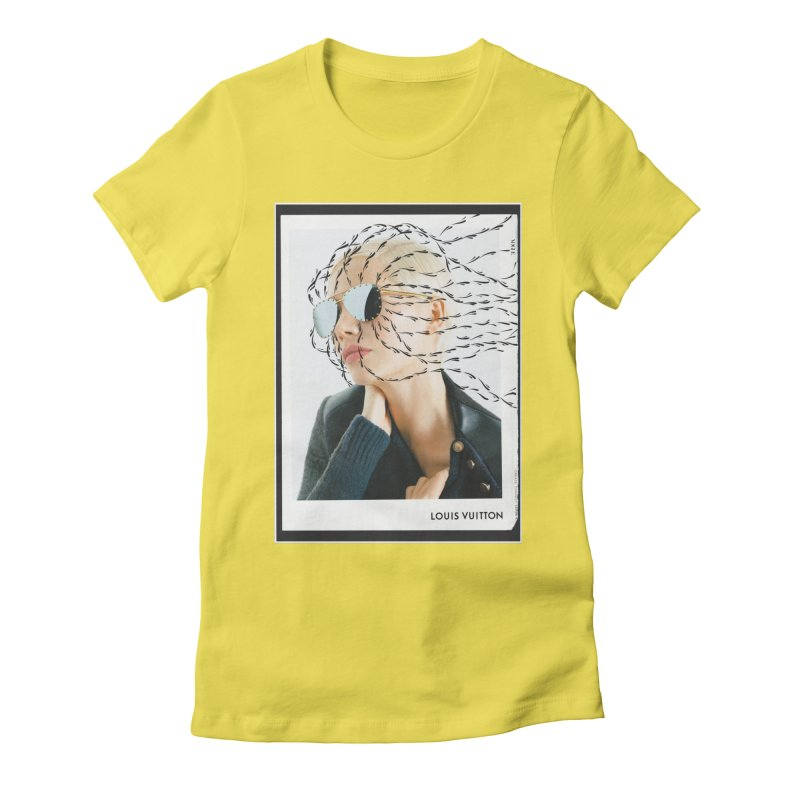Commotion Vouge LV Women's Fitted T-Shirt by DustinKlein's Artist Shop