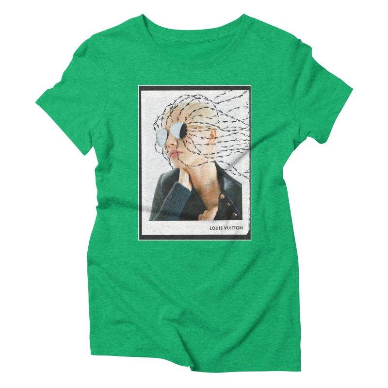 Commotion Vouge LV Women's Triblend T-Shirt by Dustin Klein's Artist Shop